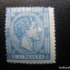 Sellos: CUBA, 1878, ALFONSO XII, EDIFIL 44. Lote 220944611