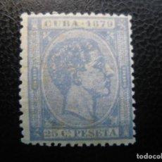Sellos: CUBA, 1879, ALFONSO XII, EDIFIL 53. Lote 220945080