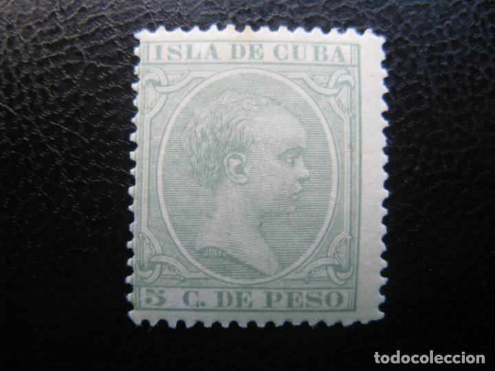 CUBA, 1890, ALFONSO XIII, EDIFIL 115 (Sellos - España - Colonias Españolas y Dependencias - América - Cuba)