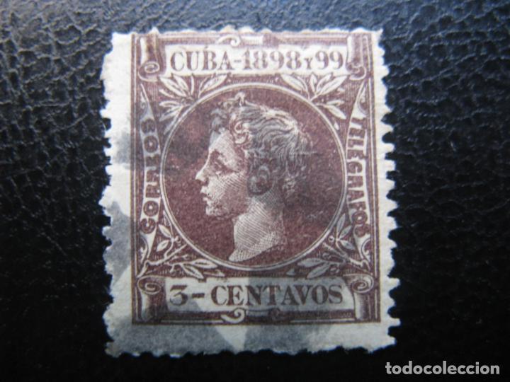 CUBA, 1898, ALFONSO XIII, EDIFIL 161 (Sellos - España - Colonias Españolas y Dependencias - América - Cuba)