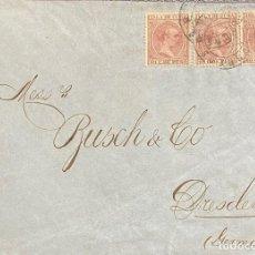 Sellos: ESPAÑA (CUBA), CARTA CIRCULADA EN EL AÑO 1895. Lote 222009806