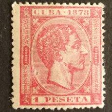 Sellos: CUBA, N°49 MH*(FOTOGRAFÍA REAL). Lote 222525626