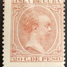 Sellos: CUBA N°139 MH*(FOTOGRAFÍA REAL). Lote 222554597
