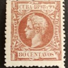Sellos: CUBA, N°171 MH*(FOTOGRAFÍA REAL). Lote 222559675