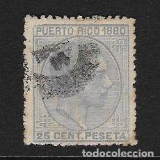 Sellos: PUERTO RICO. EDIFIL Nº 38 USADO Y MUY DEFECTUOSO. Lote 227592315