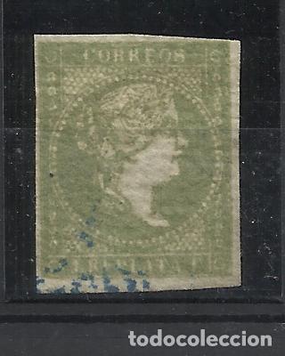 ISABEL II ANTILLAS 1856-7 EDIFIL 5 USADO VALOR 2018 CATALOGO 19.50 EUROS (Sellos - España - Colonias Españolas y Dependencias - América - Antillas)