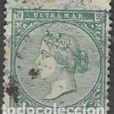 Sellos: SELLO USADO DE ANTILLAS ESPAÑOLA 1868, EDIFIL 14, FOTO ORIGINAL. Lote 233690125