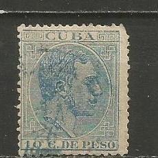Sellos: CUBA EDIFIL NUM. 103 USADO. Lote 235476160