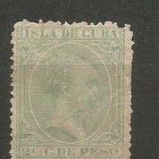 Sellos: CUBA EDIFIL NUM. 114 USADO. Lote 235479085