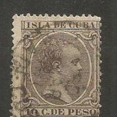 Sellos: CUBA EDIFIL NUM. 116 USADO. Lote 235479550