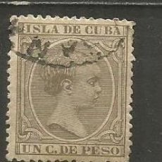 Sellos: CUBA EDIFIL NUM. 124 USADO. Lote 235480510
