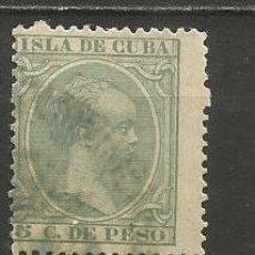 Sellos: CUBA EDIFIL NUM. 127 USADO. Lote 235480845