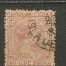Sellos: CUBA EDIFIL NUM. 128 USADO. Lote 235480935