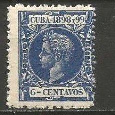 Sellos: CUBA EDIFIL NUM. 164 NUEVO GOMA DEFECTUOSA. Lote 235483310