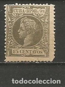 CUBA EDIFIL NUM. 167 NUEVO GOMA DEFECTUOSA (Sellos - España - Colonias Españolas y Dependencias - América - Cuba)