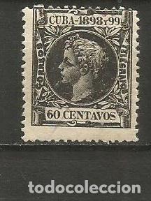 CUBA EDIFIL NUM. 170 NUEVO GOMA DEFECTUOSA (Sellos - España - Colonias Españolas y Dependencias - América - Cuba)