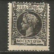 Sellos: CUBA EDIFIL NUM. 170 NUEVO GOMA DEFECTUOSA. Lote 235483745