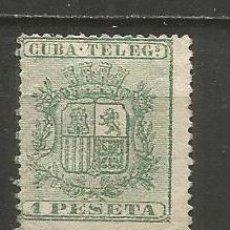 Sellos: CUBA TELEGRAFOS EDIFIL NUM. 32 USADO. Lote 235485015