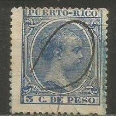 Sellos: PUERTO RICO COLONIA ESPAÑOLA EDIFIL NUM. 121 USADO. Lote 235783035