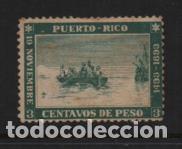 PUERTO RICO,- 3 CVS DE PESO,- 1493-1893.-E.D. Nº 101. SIN CIRCULAR-VER FOTO (Sellos - España - Colonias Españolas y Dependencias - América - Puerto Rico)