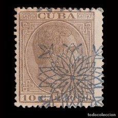 Sellos: CUBA.1883.ALFONSO XII.HABILITADO.10CT NUEVO*.EDIFIL.87. Lote 240923705