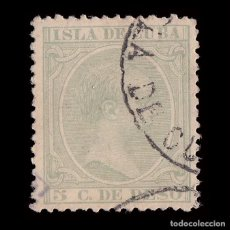 Sellos: CUBA.1891-92. ALFONSO XIII.5CT MATASELLO ISLA DE CUBA.EDIFIL.127. Lote 241025155