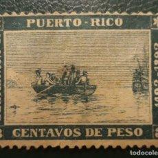 Sellos: PUERTO RICO,- 3 CENTAVOS DE PESO,- 1493-1893 SIN CIRCULAR. Lote 243638945