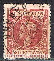 CUBA (COLONIA ESPAÑOLA) EDIFIL Nº 168, ALFONSO XIII, USADO (Sellos - España - Colonias Españolas y Dependencias - América - Cuba)