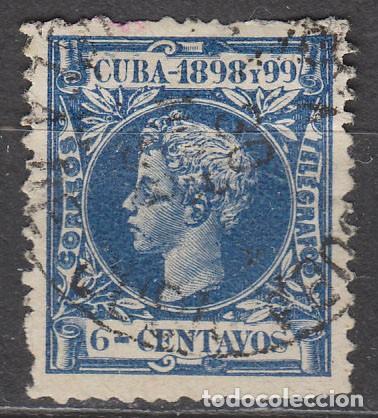 CUBA (COLONIA ESPAÑOLA) EDIFIL Nº 164, ALFONSO XIII, USADO (Sellos - España - Colonias Españolas y Dependencias - América - Cuba)