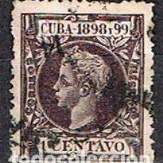 Sellos: CUBA (COLONIA ESPAÑOLA) EDIFIL Nº 159, ALFONSO XIII, USADO. Lote 245441570