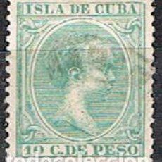 Sellos: CUBA (COLONIA ESPAÑOLA) EDIFIL Nº 150, ALFONSO XIII, USADO. Lote 245442145