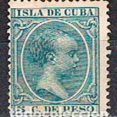 Sellos: CUBA (COLONIA ESPAÑOLA) EDIFIL Nº 149, ALFONSO XIII, NUEVO CON SEÑAL DE CHARNELA. Lote 245444765