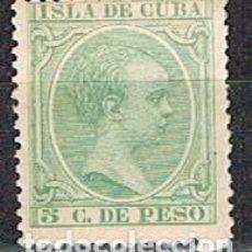 Sellos: CUBA (COLONIA ESPAÑOLA) EDIFIL Nº 127, ALFONSO XIII, SIN MATASELLAR. Lote 245456830