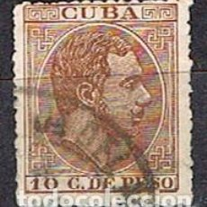 Sellos: CUBA (COLONIA ESPAÑOLA) EDIFIL Nº 66, ALFONSO XII, USADO. Lote 245458410