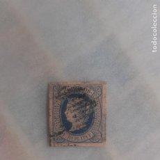 Sellos: ANTILLAS. 1 REAL DE PLATA FINA. NUEVO CON GOMA, CHARNELA. EDIFIL 11. Lote 246106850