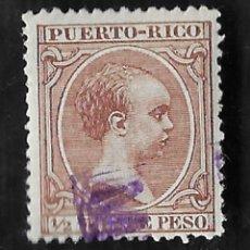 Sellos: PUERTO RICO. EDIFIL Nº 102 M*. MINISTERIO ULTRAMAR MUESTRA. Lote 249543475