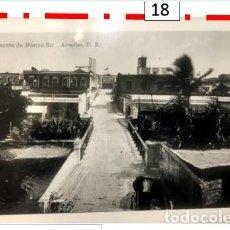 """Sellos: CALLE DEL """"PUENTE DE HIERRO"""" ARECIBO PUERTO RICO 1920. Lote 250227670"""