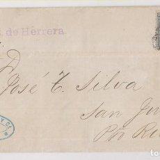 Sellos: ENVUELTA. HABANA, CUBA, A PUERTO RICO. POR EL RAMÓN DE HERRERA. 1888. RARO. Lote 254741160