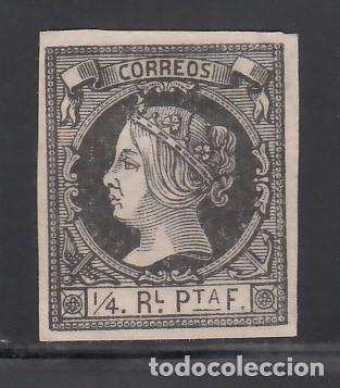CUBA. 1862 EDIFIL Nº 11 (*) (Sellos - España - Colonias Españolas y Dependencias - América - Cuba)