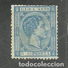 Sellos: CUBA 1878 - EDIFIL NRO. 44 - SIN GOMA. Lote 262128345