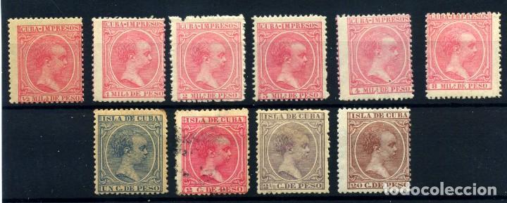 CUBA Nº 130/9. AÑO 1894 (Sellos - España - Colonias Españolas y Dependencias - América - Cuba)