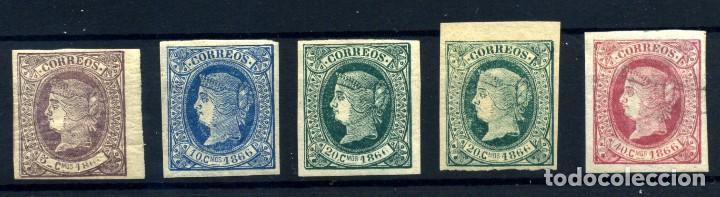 CUBA Nº 13/16. AÑO 1866 (Sellos - España - Colonias Españolas y Dependencias - América - Cuba)