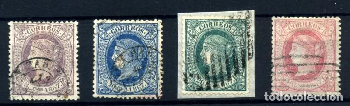 CUBA Nº 18/21. AÑO 1867 (Sellos - España - Colonias Españolas y Dependencias - América - Cuba)
