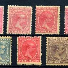 Sellos: CUBA Nº 130/39. AÑO 1894. Lote 262290180