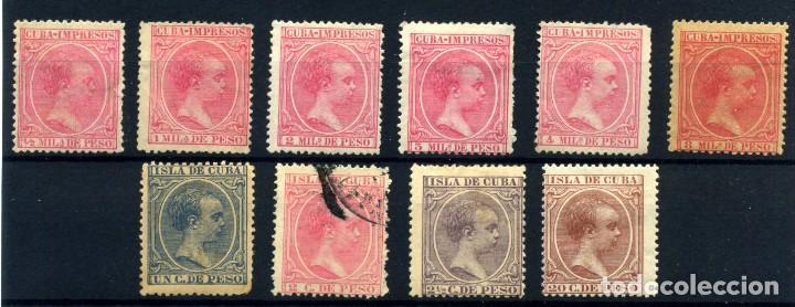 CUBA Nº 130/39. AÑO 1894 (Sellos - España - Colonias Españolas y Dependencias - América - Cuba)
