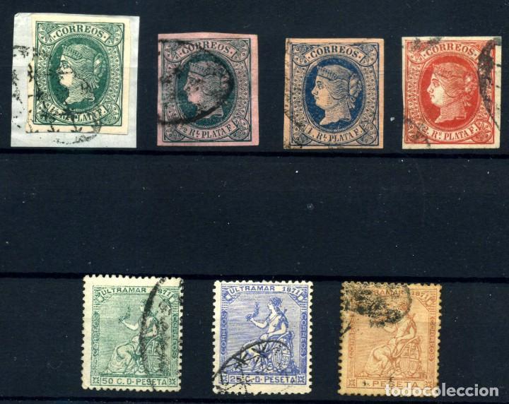ANTILLAS ESPAÑOLA Nº 10/12, 22/4. AÑO 1864/71 (Sellos - España - Colonias Españolas y Dependencias - América - Antillas)
