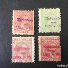 Selos: PUERTO RICO SOBRECARGA. Lote 264773624