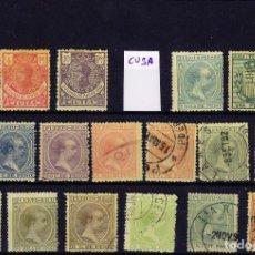 Selos: FICHA CON SELLOS DE ULTRAMAR. Lote 265650514