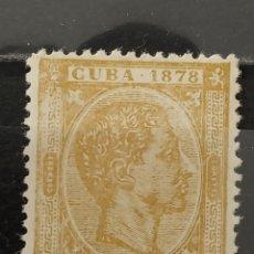 Sellos: ESPAÑA. 1878. CUBA. 12 1/2 CÉNTIMOS. EDIFIL 46.. Lote 266724793