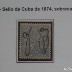Sellos: COLONIAS ESPAÑOLAS - PUERTO RICO - EDIFIL Nº 4 BIEN CENTRADO NUEVO * CON FIJASELLO - 2 FOTOS. Lote 267428449